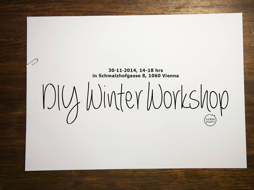 DIY winter workshop